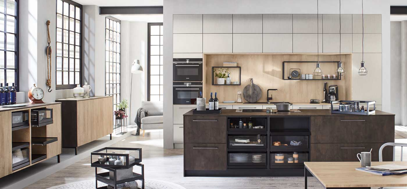 A Modern Kitchen Impresses Thanks To Its Reduced Aesthetics And Clear  Styling. Modern Kitchens Are Heavily Design Oriented. The Ballerina  Collection Here ...